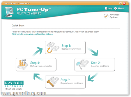 Review: PC Tune UP – Turn That Tortoise Back Into A Hare In Four Easy Steps.  Review: PC Tune UP – Turn That Tortoise Back Into A Hare In Four Easy Steps.