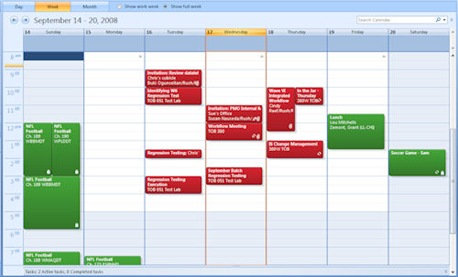 Outlook Calendar 2