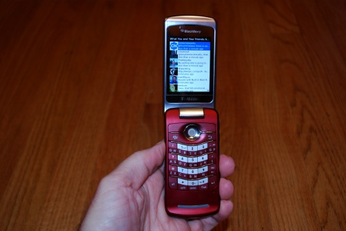 Blackberry 8220 First Impressions