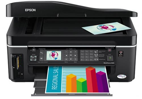 Review - Epson WorkForce 600 Multi-Function Printer