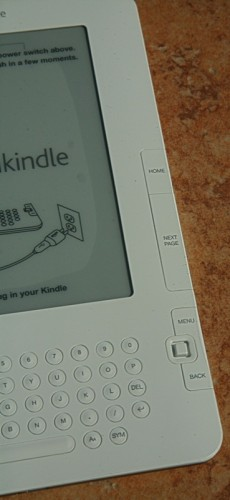 Unboxing the Amazon Kindle 2