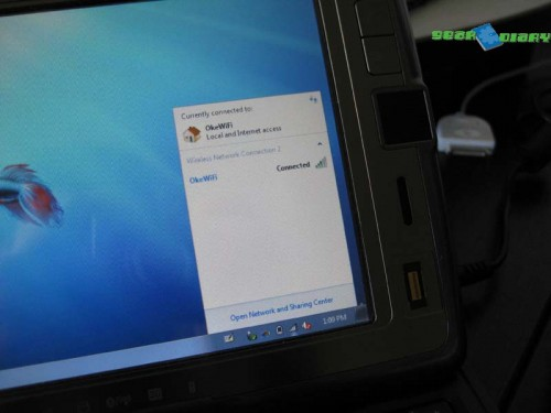 Windows 7 on the HTC Shift  Windows 7 on the HTC Shift  Windows 7 on the HTC Shift