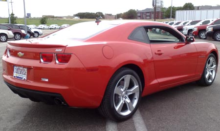 First drive: 2010 Chevy Camaro SS