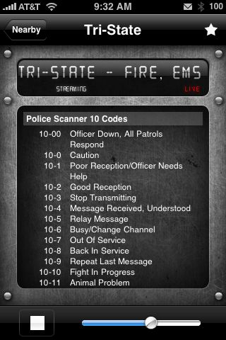 App Review:  Emergency Radio for iPhone and iPod Touch