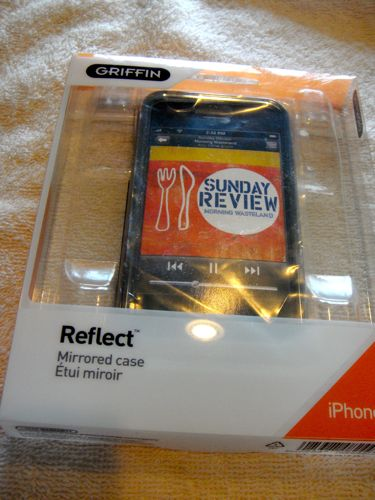 Review:  Griffin Reflect Mirrored Case for iPhone 3G