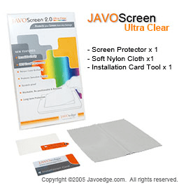 Review:  JAVOScreen -  Ultra-Clear Screen Protector for Amazon Kindle 2