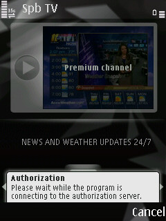 Spb TV for Symbian S60 Review