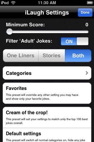 Review: iLaugh for iPhone