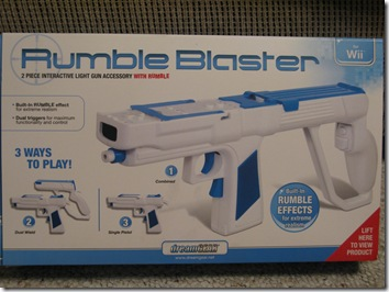 Review: DreamGear Rumble Blaster