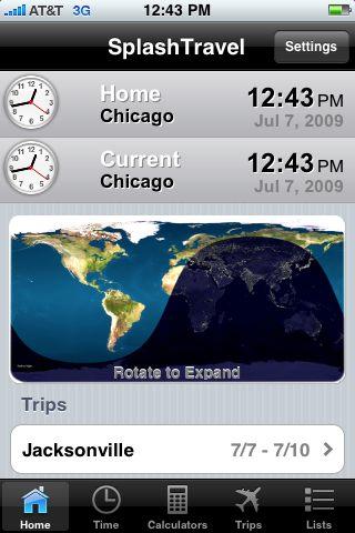 SplashTravel for iPhone Review