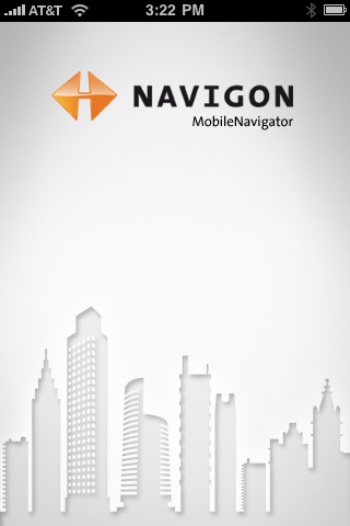 Navigon (Lite) for iPhone with North America Maps