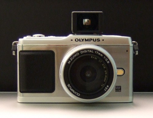 Olympus E-P1 Viewfinder Front