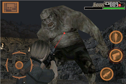 Review: Resident Evil 4 for iPhone  Review: Resident Evil 4 for iPhone  Review: Resident Evil 4 for iPhone