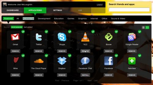 Screenshot-My Jolicloud - Applications