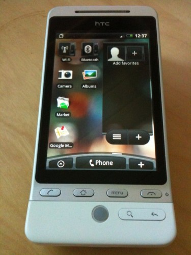 Some Thoughts On the HTC Hero After a Few Days