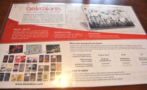 Review:  GelaSkins  Review:  GelaSkins  Review:  GelaSkins
