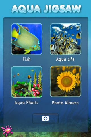 Review:  Aqua Jigsaw for iPhone OS  Review:  Aqua Jigsaw for iPhone OS