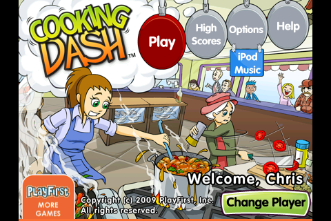 Review: Cooking Dash for iPhone and iPod Touch