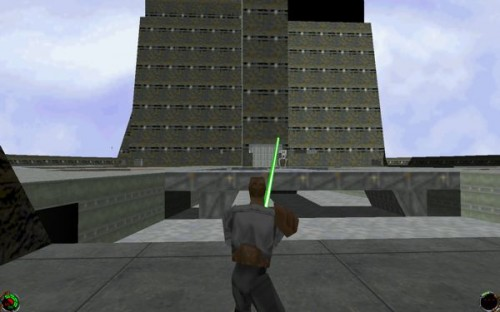 GearDiary The Netbook Gamer: Star Wars Jedi Knight (1997, FPS)