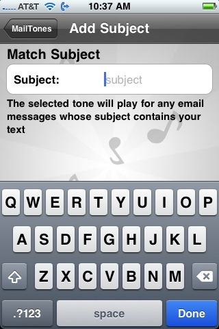 MailTones Adds Personality To your iPhone Email - Review