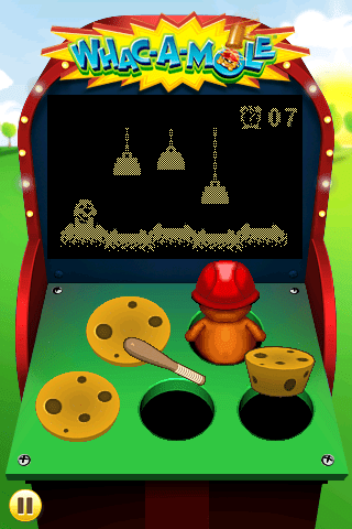 Whac a Mole iPhone game review  Whac a Mole iPhone game review  Whac a Mole iPhone game review