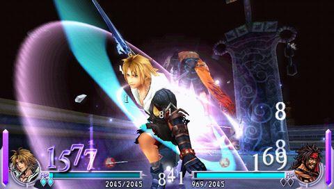 Review: Dissidia Final Fantasy for PSP  Review: Dissidia Final Fantasy for PSP
