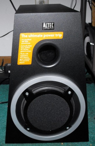 Review: Altec Lansing Expressionist Ultra  Review: Altec Lansing Expressionist Ultra  Review: Altec Lansing Expressionist Ultra