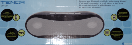 Tenqa SP-99 Wireless Stereo Bluetooth Speaker - Review