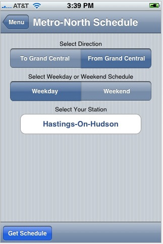 Stationstops returns to iTunes Apps Store - Metro North Train Scheduling