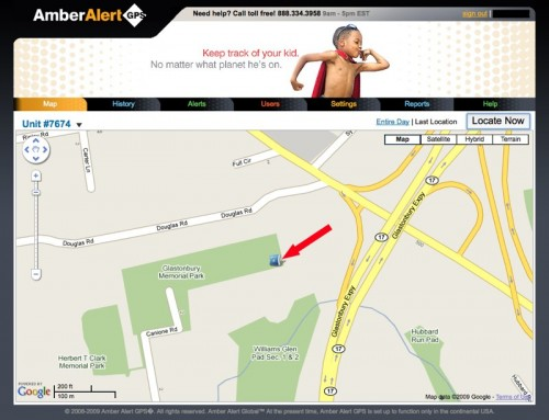 Amber Alert GPS Keeps an Eye on Your Child's Location