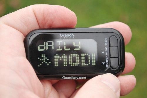 Oregon Scientific Marathon Walker Measures Your Progress Step By Step