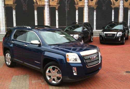 2010 GMC Terrain changing landscape of crossovers