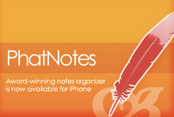 PhatNotes for iPhone & iPod Touch Review