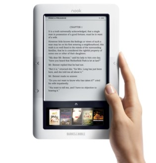 First Impressions of the Barnes & Noble nook