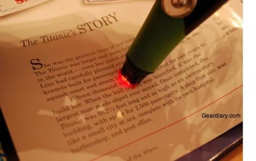 reading pen scanning