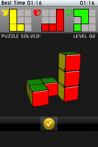 Mr. Puzzle Genius 3D Puzzle for iPhone / iPod Touch