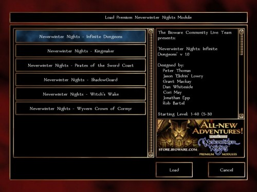 Neverwinter Nights (2002, RPG): The Netbook Gamer