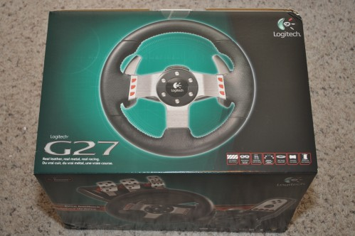 Unboxing the Logitech G27 Racing Wheel!  Unboxing the Logitech G27 Racing Wheel!