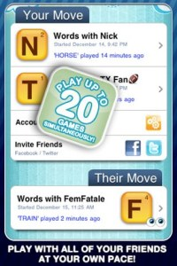 Words with Friends Free for iPhone/Touch App Review