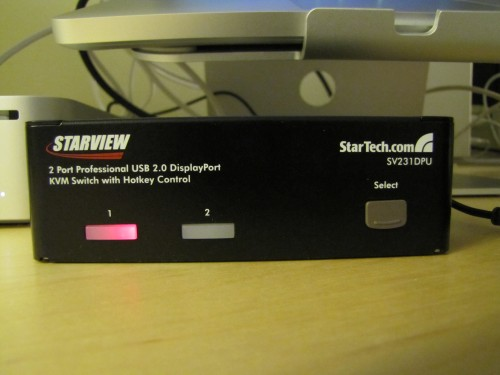 Review: StarTech DisplayPort KVM Switch