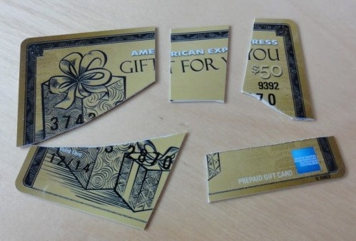 AmexEx Gift Cards- The Gift With Strings Attached...