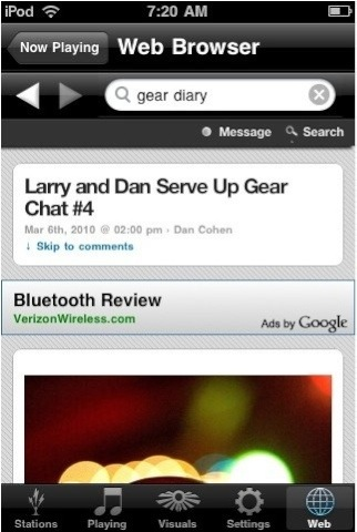 GearDiary Spark Radio - iPhone Application Review