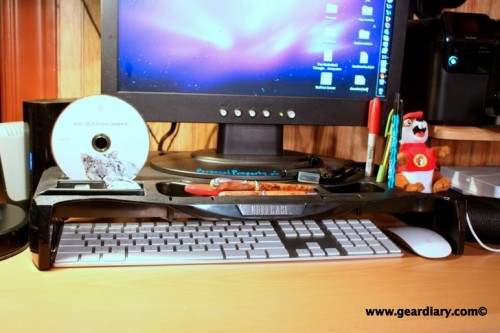 GearDiary Super Notebook Stand - Monitor Combi