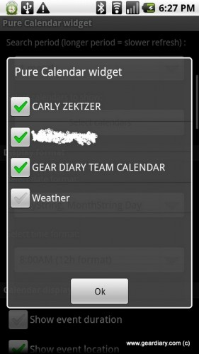 Manage Your Agenda On Android