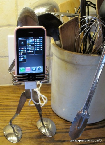Forked Up Art Serves Up the Coolest iPhone and iPod Touch Holder Ever!