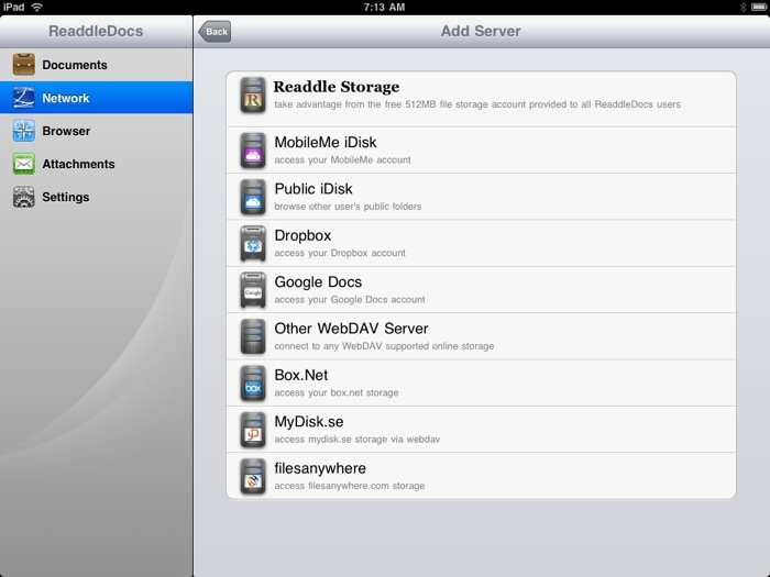ReaddleDocs For iPad Review