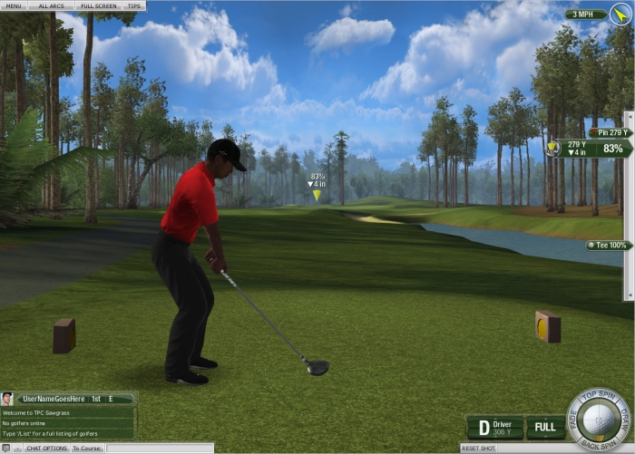 Tiger Woods PGA Tour Golf ... MMO Game?  Tiger Woods PGA Tour Golf ... MMO Game?