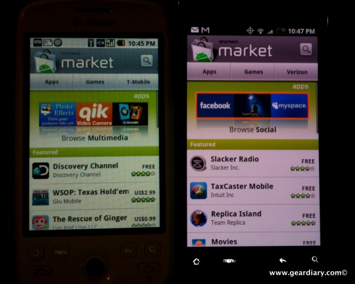 What's Up With Certain Devices and the Android Market?