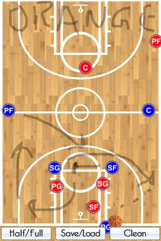 Review: Basketball Coach's Clipboard For iPhone/Touch/iPad