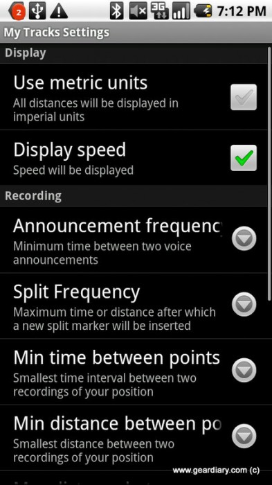 Review: My Tracks for Android